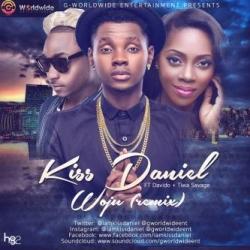 Kiss Daniel - Woju (Remix) [Snippet] (feat. Davido & Tiwa Savage)