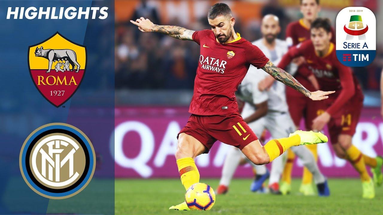 Roma 2 - 2 Inter Milan (Dec-02-2018) Serie A Highlights