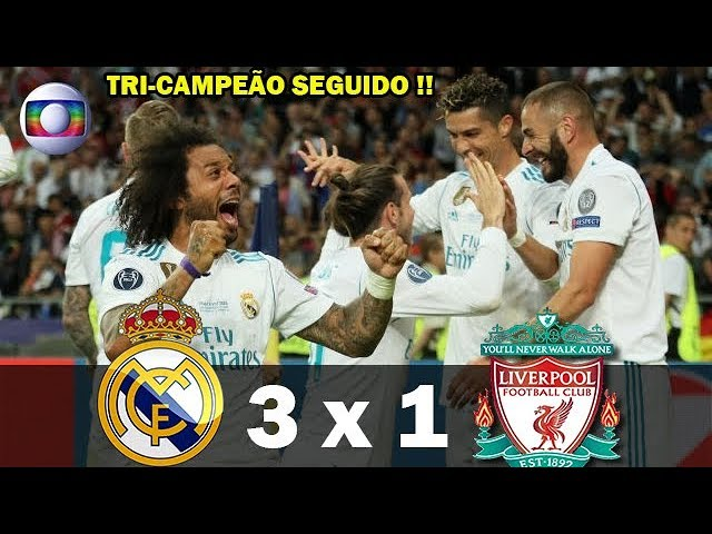 Real Madrid 3 - 1 Liverpool (May-26-2018) UEFA Champions League Final Highlights