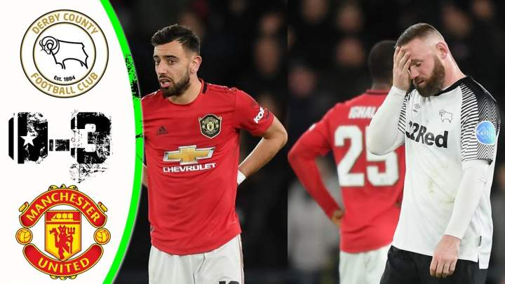 Derby County 0 - 3 Manchester United (Mar-5-2020) FA Cup Highlights