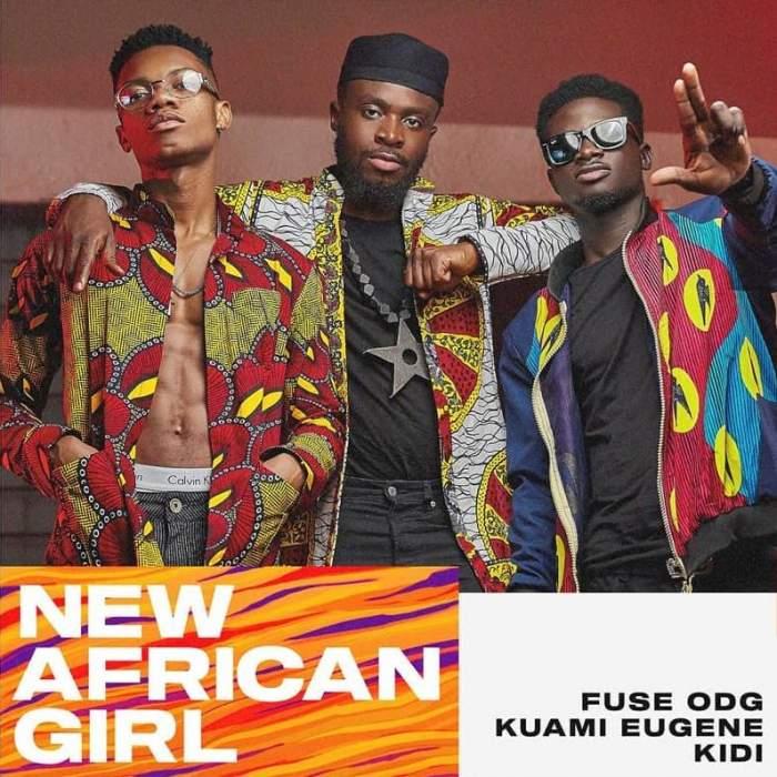 Fuse ODG - New African Girl (feat. Kuami Eugene & KiDi)