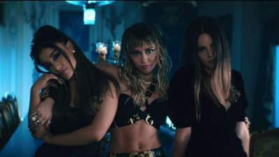 Video: Ariana Grande, Miley Cyrus & Lana Del Rey - Don't Call Me Angel (Charlie's Angels)