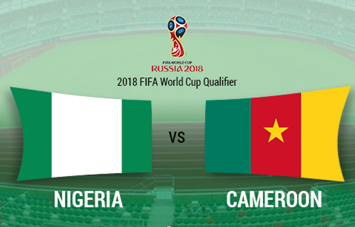 Nigeria 4 - 0 Cameroon (Sep-1-2017) World Cup Qualifier Highlights