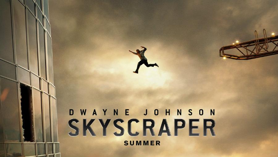 Skyscraper (2018) [HC-HDRip]