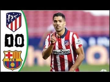Video: Atl. Madrid 1 - 0 Barcelona (Nov-21-2020) LaLiga Highlights
