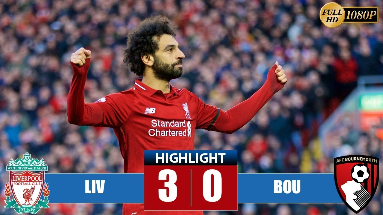 Liverpool 3 - 0 Bournemouth (Feb-09-2019) Premier League Highlights