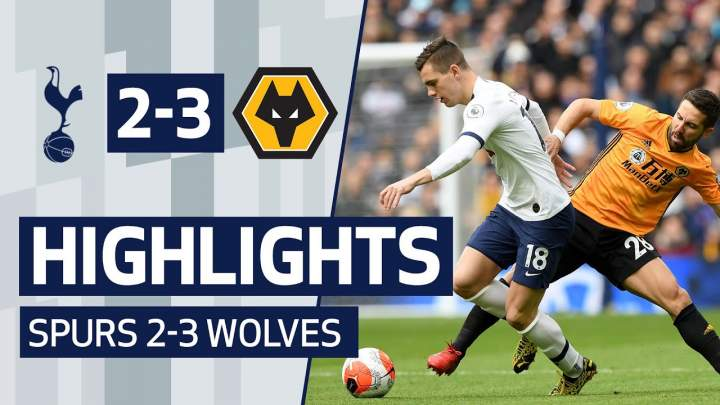 Tottenham 2 - 3 Wolves (Mar-01-2020)  Premier League Highlights