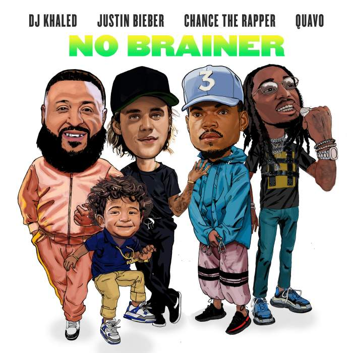 DJ Khaled - No Brainer (feat. Justin Bieber, Chance the Rapper & Quavo)