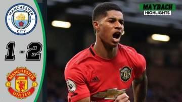 Video: Manchester City 1 - 2 Manchester Utd (Dec-07-2019) Premier League Highlights