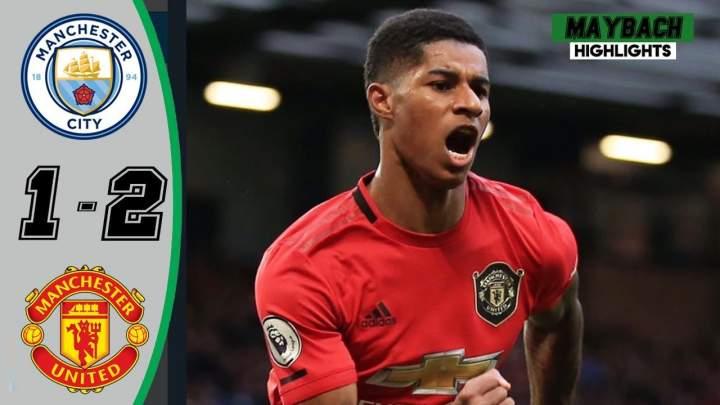 Manchester City 1 - 2 Manchester Utd (Dec-07-2019) Premier League Highlights
