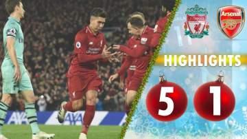 Video: Liverpool 5 - 1 Arsenal (Dec-29-2018) Premier League Highlights