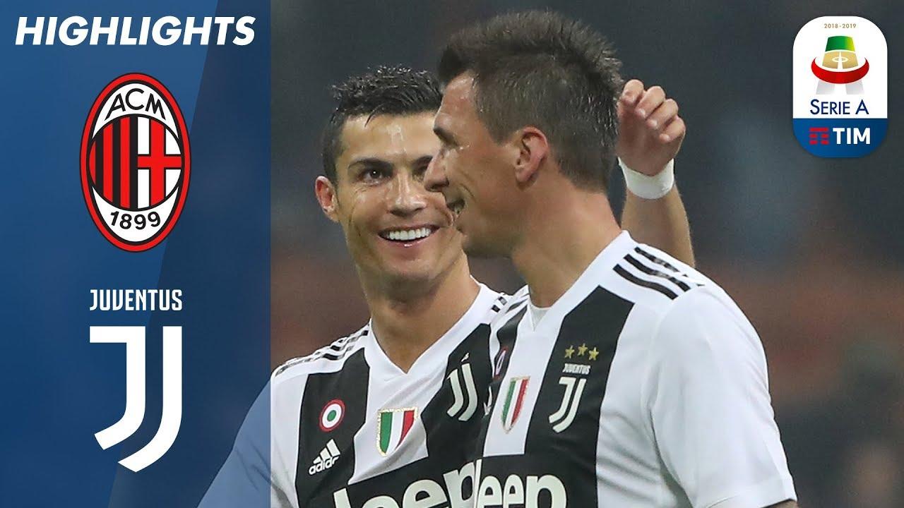 Milan 0 - 2 Juventus (Nov-11-2018) Serie A Highlights