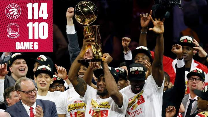 "Raptors win ""first-ever"" NBA title  (Jun-14-2019)"