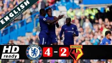 Video: Chelsea 4 - 2 Watford (Oct-21-2017) Premier League Highlights