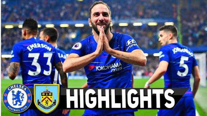 Chelsea 2 - 2 Burnley FC (22-APR-2019) Premier League Highlights