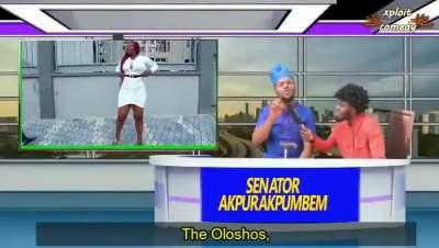 Comedy Skit: Xploit Comedy - Senator Akpurakpumbem Campaign Speech