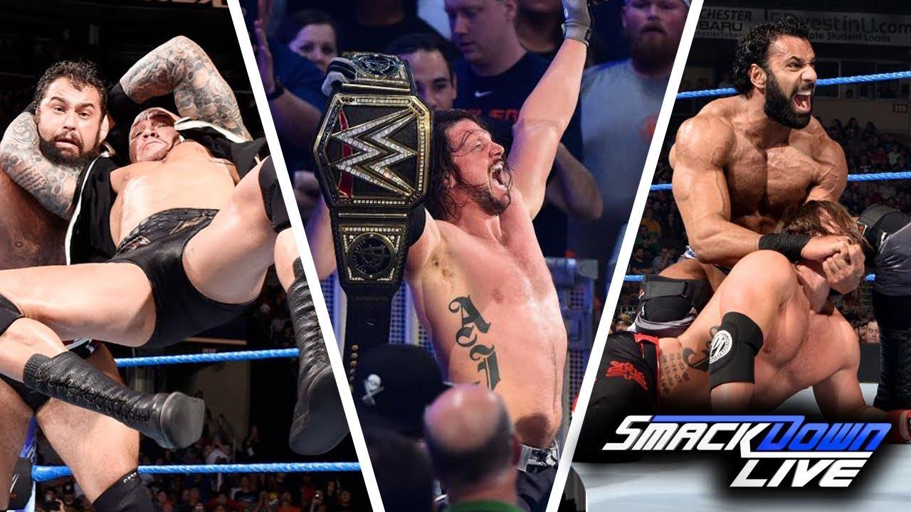 WWE SmackDown (Nov-7-2017) Highlights