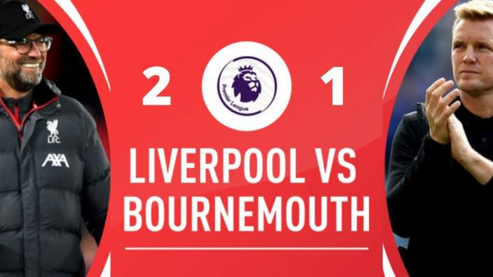 Liverpool 2 - 1 Bournemouth (Mar-07-2020) Premier League Highlights
