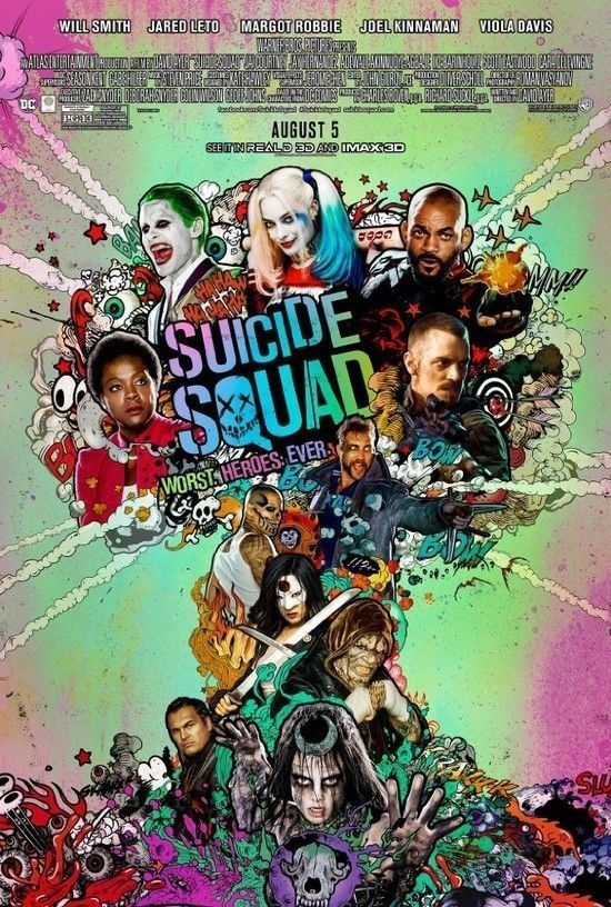Suicide Squad (2016) [Starr. Will Smith]