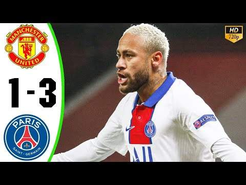 Manchester Utd 1 - 3 Paris SG (Dec-02-2020) UEFA Champions League Highlights