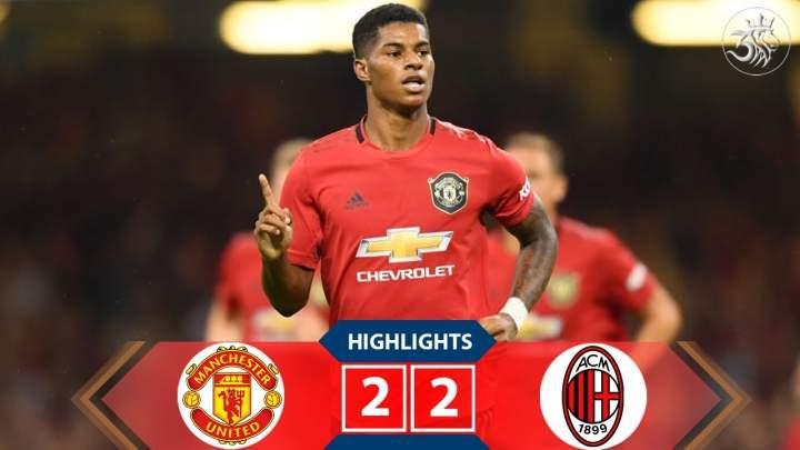 Man United 2 - 2 Milan (Pen 5-4) (Aug-03-2019) International Champions Cup Highlights