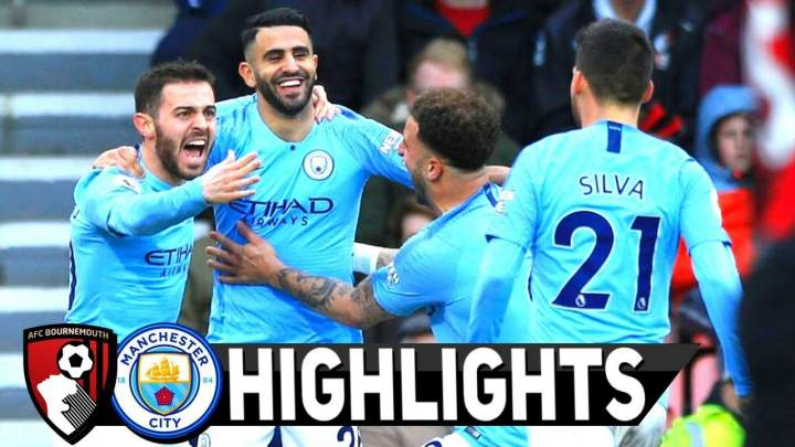 Bournemouth 0 - 1 Manchester City (Mar-02-2019) Premier League Highlights