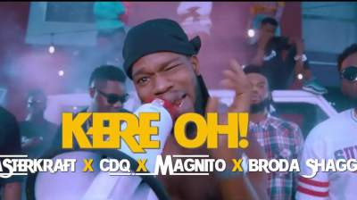 Video: Masterkraft - Kere Oh (feat. CDQ, Magnito & Broda Shaggi)