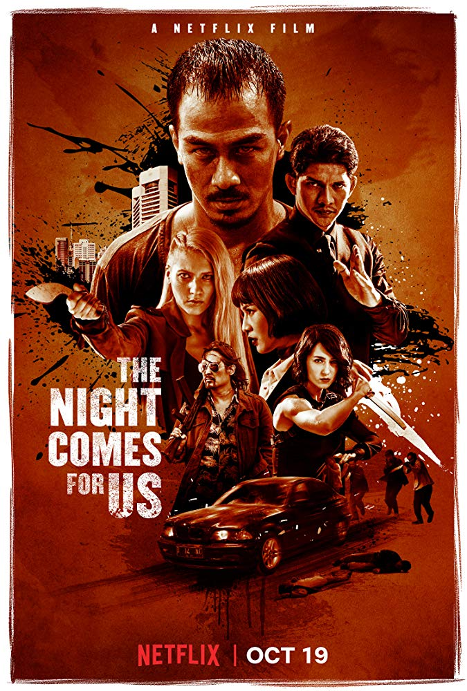 Netnaija latest Hollywood action movies, The Night Comes for Us (2018) [Indonesian]