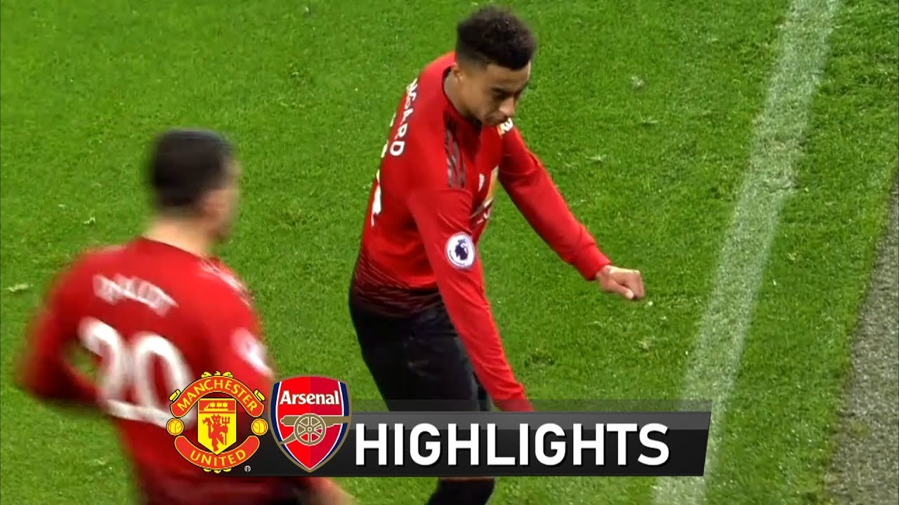 Manchester United 2 - 2 Arsenal (Dec-05-2018) Premier League Highlights