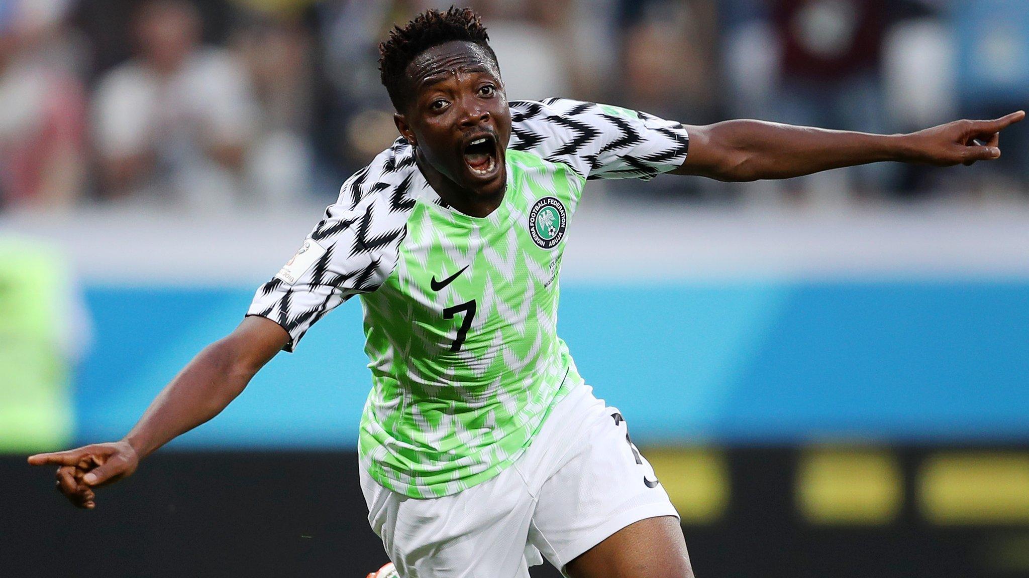 Nigeria 2 - 0 Iceland (Jun-22-2018) World Cup Highlights