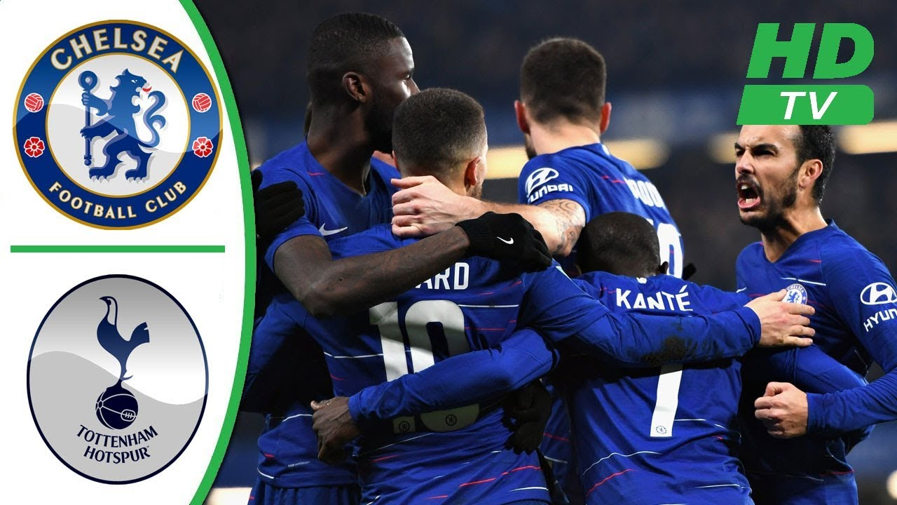 Chelsea 2 - 1 Tottenham Hotspur (Pen 4-2) (Jan-24-2019) EFL Cup Highlight