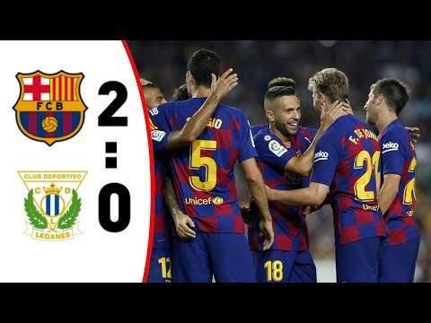 Barcelona 2 - 0 Leganes (Jun-16-2020) LaLiga Highlights