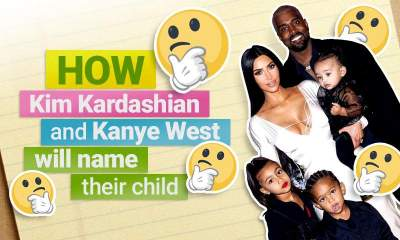 Calling all Kim and Kanye fans - guess the name of baby nr.4 to win big!