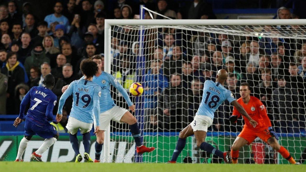 Chelsea 2 - 0 Manchester City (Dec-08-2018) Premier League Highlights