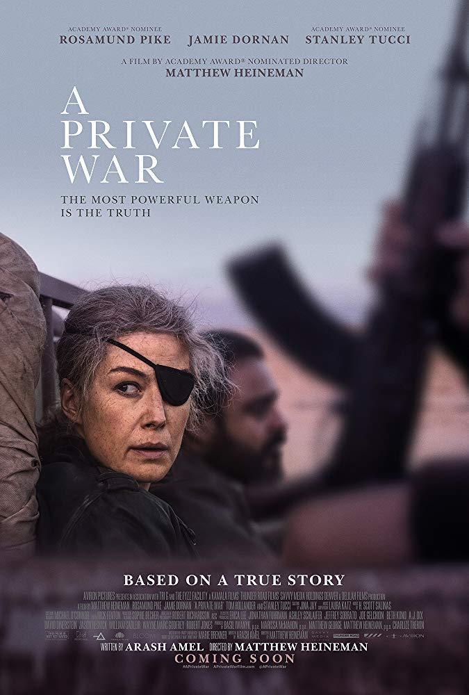 FRESH MOVIE :A Private War (2018)