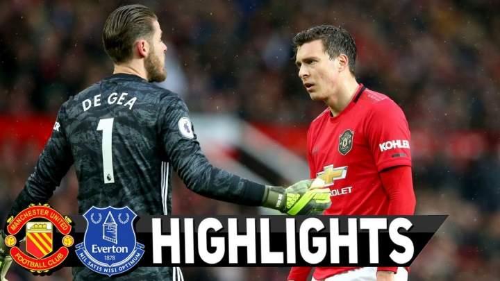 Manchester Utd 1 - 1 Everton (Dec-15-2019) Premier League Highlights