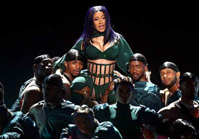 Video: Watch Cardi B Perform 'Press' at the BET Awards
