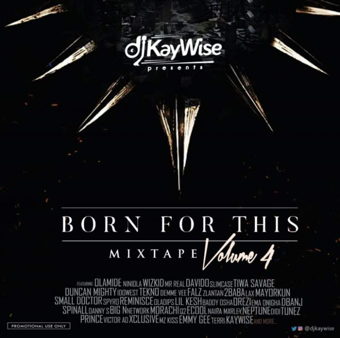 DJ Kaywise - Born For This Mix (Vol. 4)