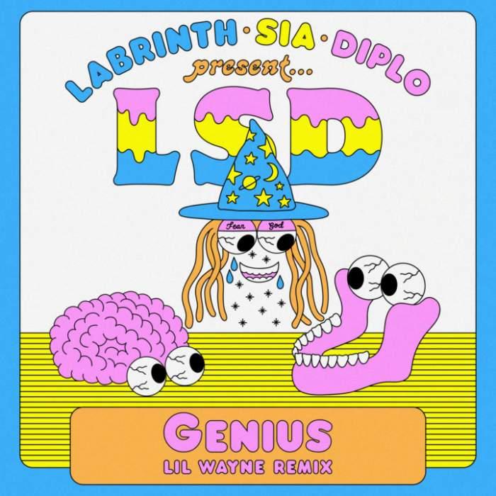 LSD - Genius (Remix) (feat. Lil Wayne, Sia, Diplo & Labrinth)