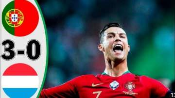 Video: Portugal 3 - 0 Luxembourg (Oct-12-2019) Euro Qualifiers Highlights