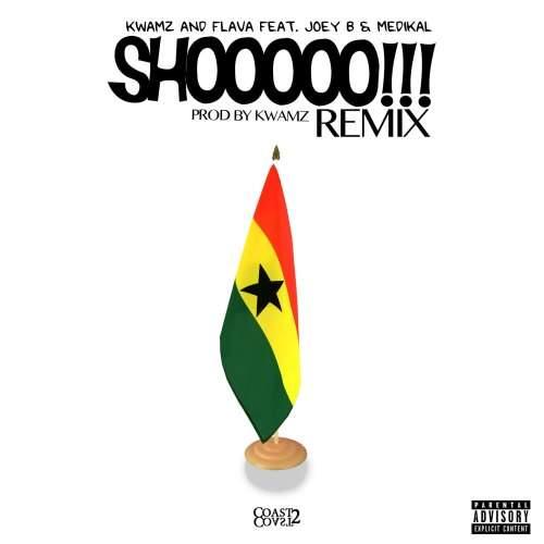 Kwamz & Flava - Shooo (Remix) (feat. Medikal & Joey B)