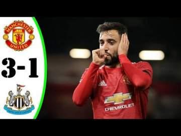 Video: Manchester Utd 3 - 1 Newcastle (Feb-21-2021) Premier League Highlights