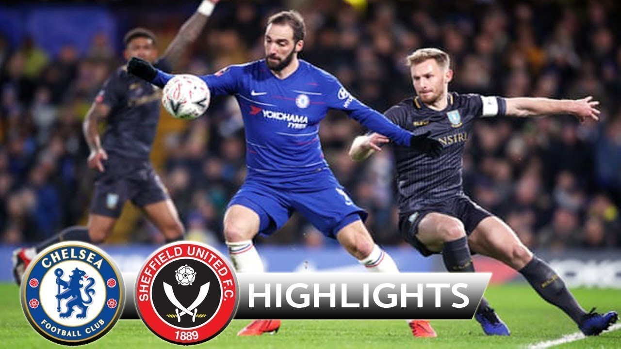 Chelsea 3 - 0 Sheffield Wednesday (Jan-27-2019) FA Cup Highlights