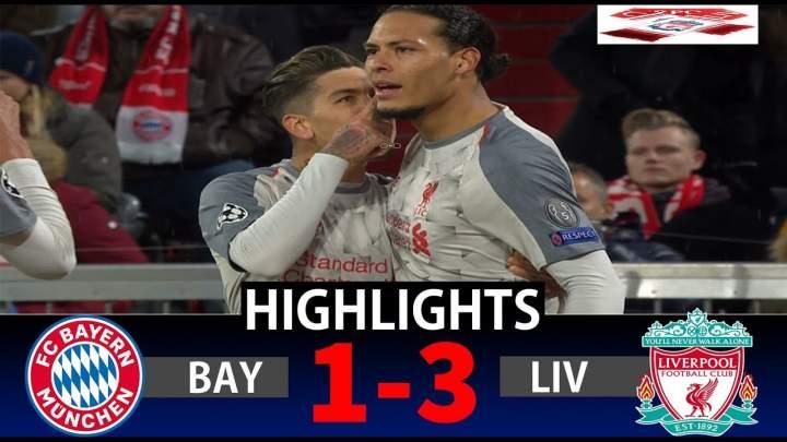 Bayern Munich 1 - 3 Liverpool (Mar-13-2019) Champions League Highlights