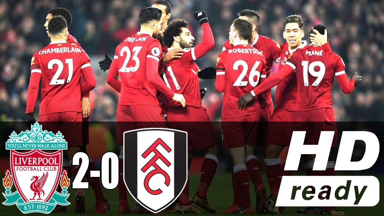 Liverpool 2 - 0 Fulham (Nov-11-2018) Premier League Highlights