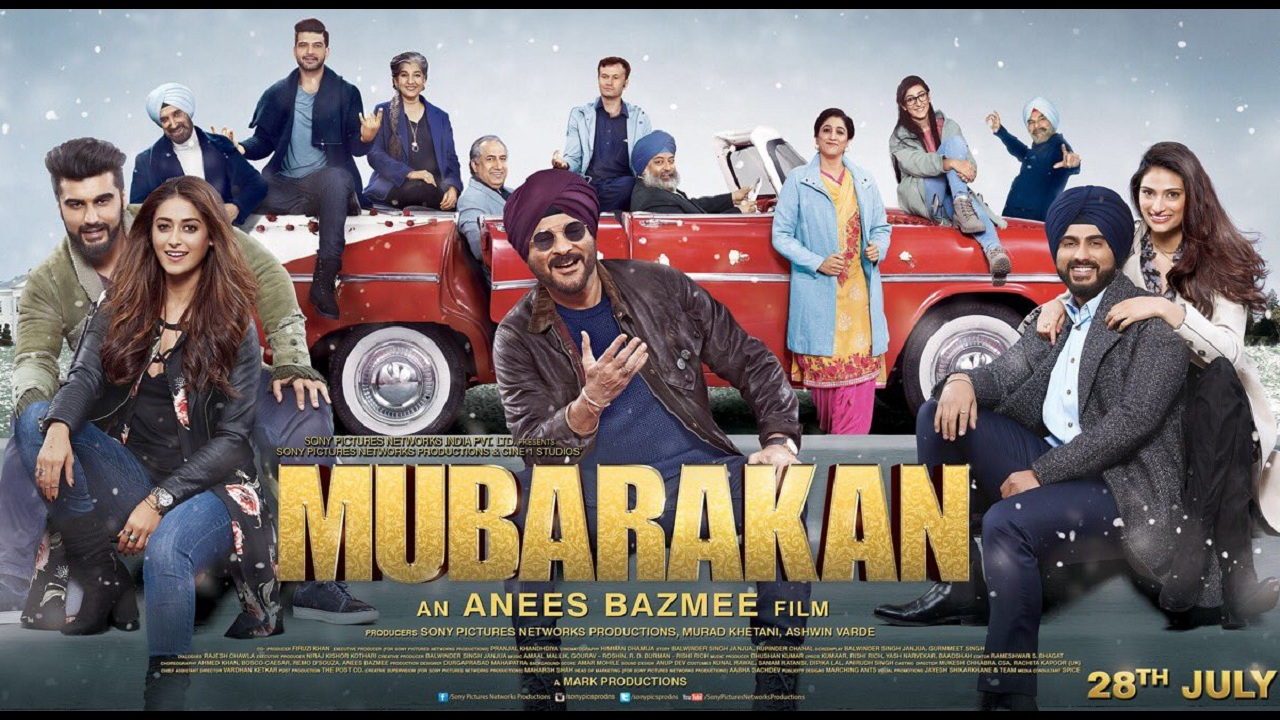 Mubarakan (2017) [Indian]