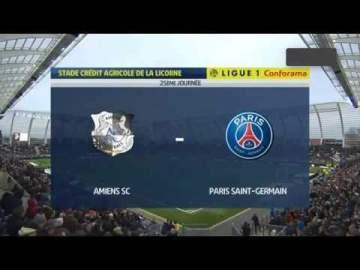 Video: Amiens 4 - 4 Paris SG (Feb-15-2020) Ligue 1 Highlights