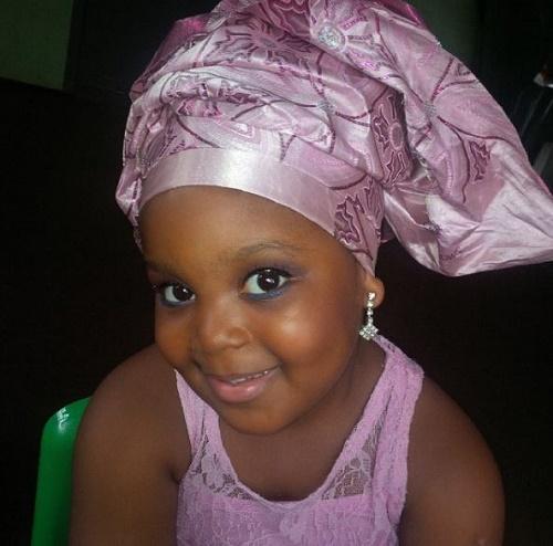 Bisola Daughter 1