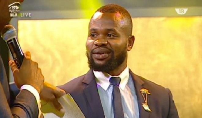#BBNaija: Former Housemate Kemen Receives A Warm Welcome As He Arrives Akwa Ibom