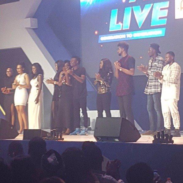 Bbnaija Housemates At AY Live1